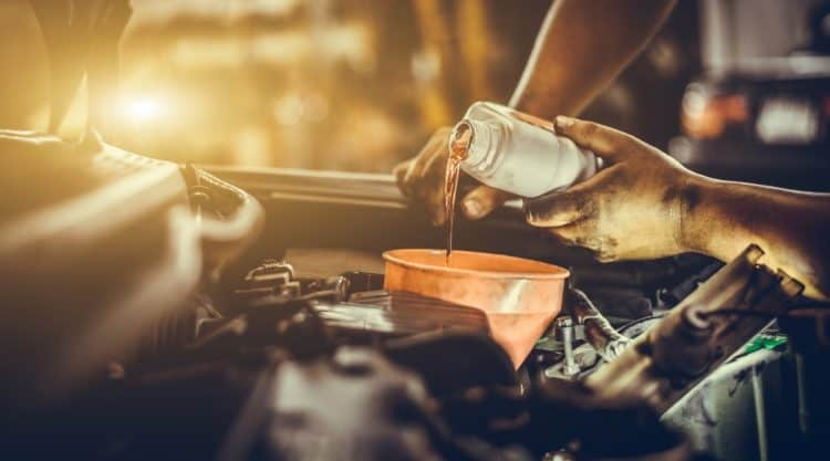 Changing Car Oil