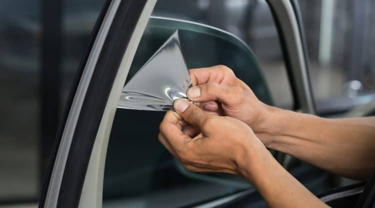 Removing Tint From Car Window