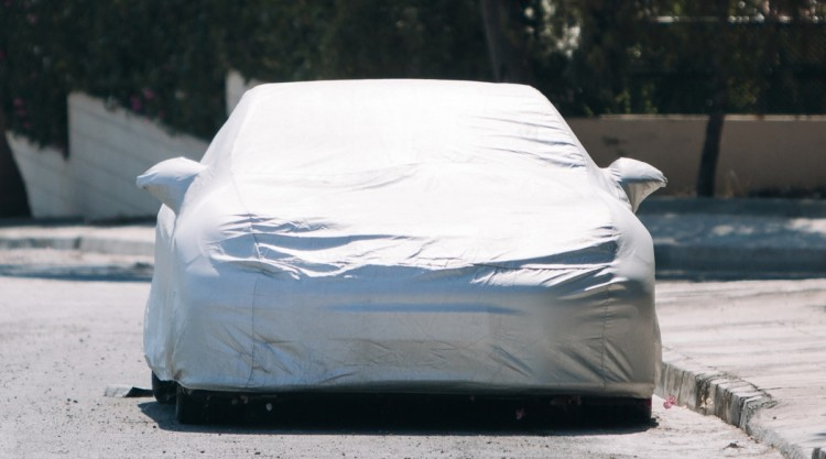Car Covered Outside