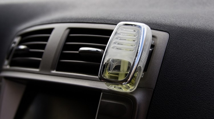 Car With Air Freshener