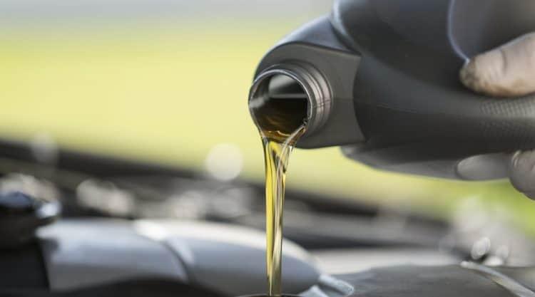Quarts of Oil in Car