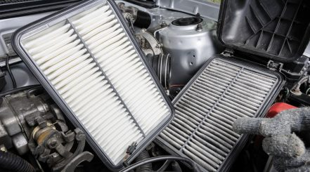 Car Air Filters Changing