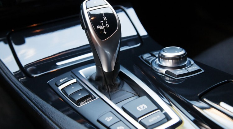 Picture of an automatic transmission in a car